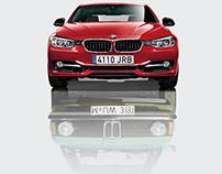 Print. BMW 40 Aniversario.
