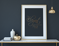Free Elegant Photo Frame Mock-up Psd For Artist