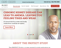 The PROTECT Healthcare Study Website Design