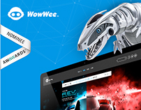 WowWee.com: Redesign of a Popular Tech Toy Maker