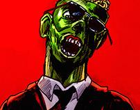 Reservoir popcorn zombie