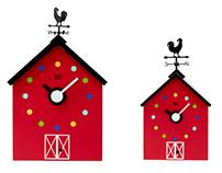 Barn Clock for KooKoo