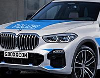 2019 BMW X5 Polizei