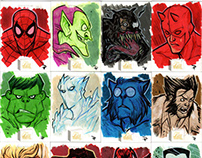 2019 Marvel Flair - Sketch Cards