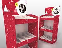 Wilko - Christmas 2017 units - 3D visual
