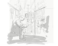 #JSJsubwaySketch - 051118