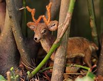 Poseable Deer