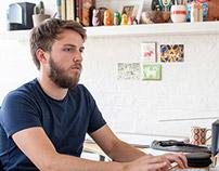 Owen Davey - In The Studio