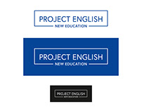 Project English - logotypes & ... - language school