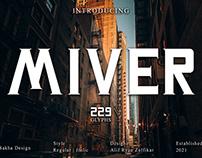 Free Miver Serif Font
