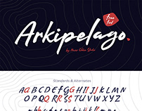 Arkipelago Brush Script – Free Font
