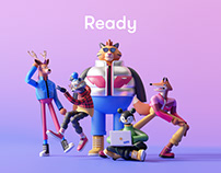 Ready - Brand Characters