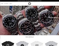 Watch Pros: Logo & Website Design