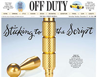 Sticking to the Script: WSJ Off Duty Cover