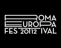 Roma Europa Festival 2012