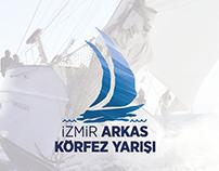 İzmir Arkas Körfez Yarışı Logo - Kurumsal Kimlik