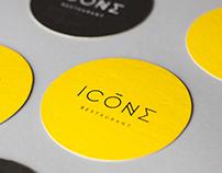 Restaurant ICÔNE / Branding et photographie