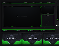 FREE STREAM OVERLAY TEMPLATE - CoD WARZONE EDITION