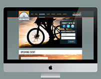 Neighborhood Bike Shop (Web Design and Rebrand Study)