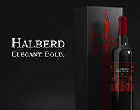 Halberd Wine: Label Design