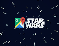 Star Wars on Google Maps