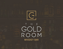 The Gold Room Whiskey Bar - Branding