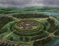 Viking Trelleborg Fort