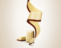 Karl Fazer White & Milk Chocolate