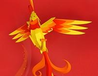 Rise Like a phoenix with a coffee.