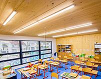 Wooden building / School in Bratislava