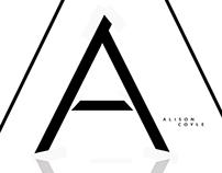 Alison Coyle Logo Design