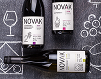 Wine Label Design - Novak