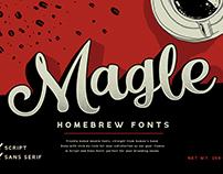 Magle - Homebrew Fonts