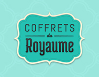 Coffrets du Royaume website redesign