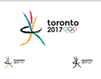 Toronto Olympic Games Logo Work & Pictograms