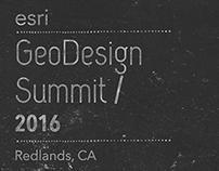 Esri GeoDesign Summit 2016
