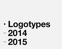 Logotypes 2014 & 2015