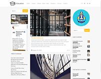 Blog Dual Sidebar Page - Education WordPress Theme