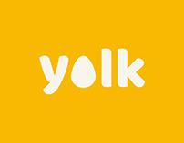 Yolk: Branding Development