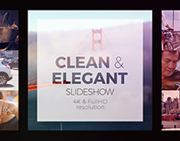 Clean and Elegant Slideshow - After Effects Templates
