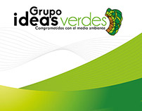 Brochure Grupo ideas verdes