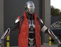 Sci-Fi Cyborg (WIP)