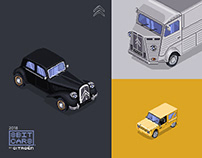 8Bit Cars | by Citroën