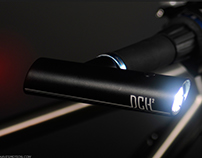 Dual bar-ends light system for bikes