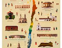 Mapa Monumentos Patrimoniales Chile