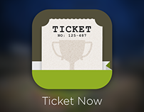 Ticket Now app. icon