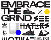 AdidasxNinja collection branding