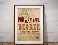 Broadside Circus Poster