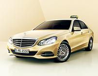 Mercedes Benz Taxi Print Campaign