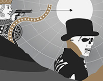 Poster inspired by Daniel Craig's Bond films